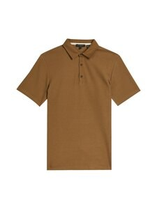 Ted Baker London - Strict SS Waffle Textured Polo -pikeepaita - BROWN | Stockmann