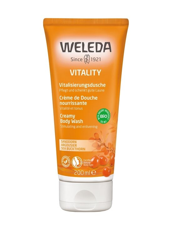 Weleda - Sea Buckthorn Creamy Body Wash -suihkuvoide 200 ml   Stockmann - photo 1