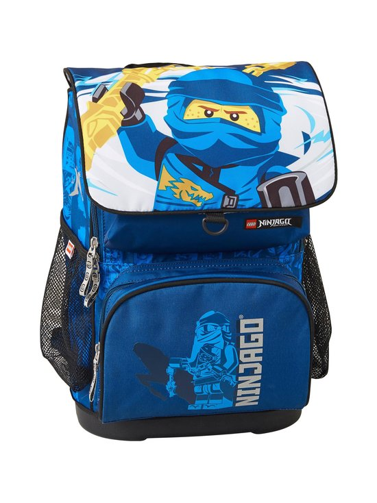 Lego - Optimo Schoolbag With Gymbag -reppu - 2002- LEGO NINJAGO JAY OF LIGHTNING | Stockmann - photo 1