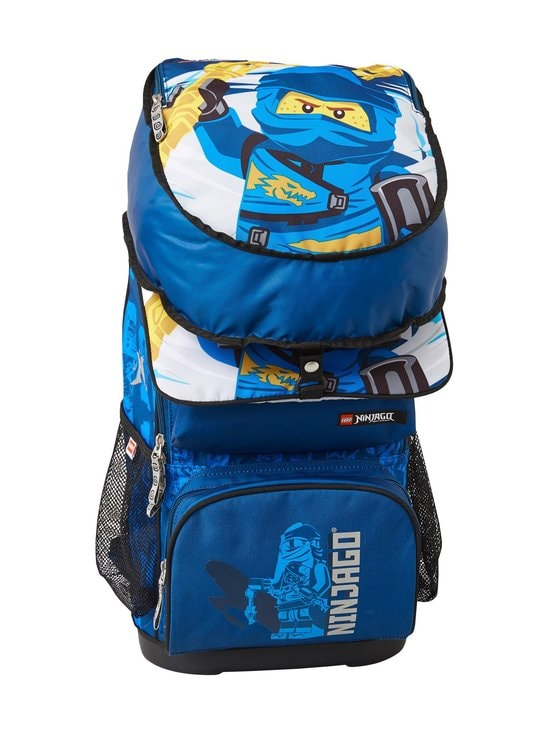 Lego - Optimo Schoolbag With Gymbag -reppu - 2002- LEGO NINJAGO JAY OF LIGHTNING | Stockmann - photo 7