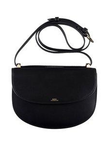 A.P.C - Genève Bag -nahkalaukku - NOIR | Stockmann