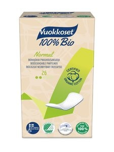 Vuokkoset - Bio Normal -pikkuhousunsuoja 26 kpl | Stockmann