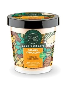 Organic Shop - Body Desserts Caramel Cappuccino -kiinteyttävä vartalovoide 450 ml | Stockmann