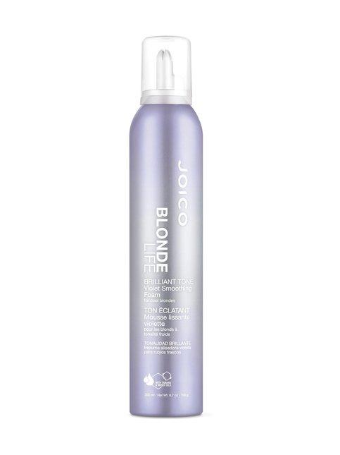 Blonde Life Brilliant Tone Violet Foam Styler -hoito- ja muotovaahto vaaleille hiuksille 200 ml