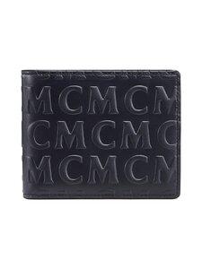MCM - Small Bifold Wallet in MCM Monogram Leather -nahkalompakko - BK BLACK | Stockmann