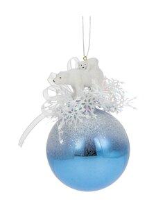 Weiste - Jääkarhu ja poikanen -joulupallo - WHITE | Stockmann