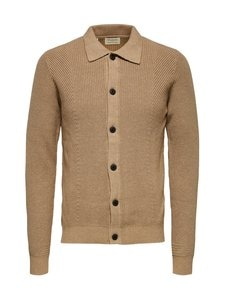 Selected - SlhDarrel Button Cardigan -puuvillaneuletakki - KELP | Stockmann