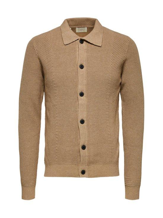 Selected - SlhDarrel Button Cardigan -puuvillaneuletakki - KELP | Stockmann - photo 1