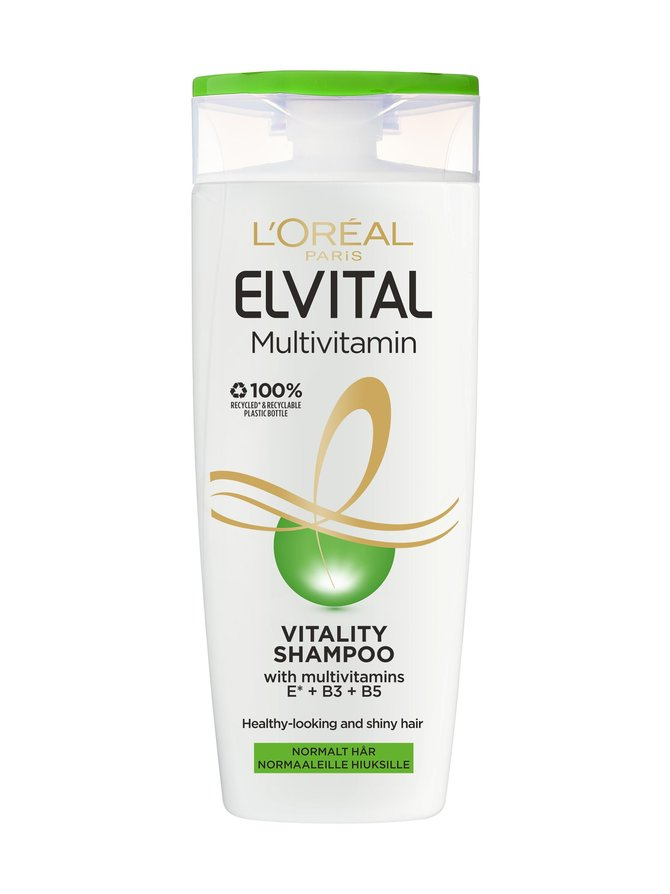 Elvital Multivitamin -shampoo 250 ml