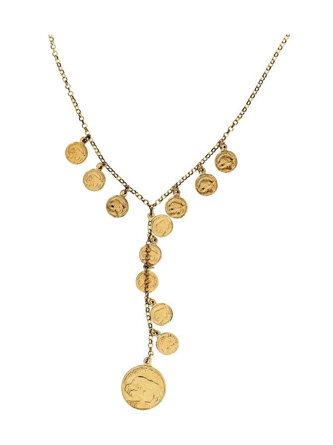 Coin Charm -kaulakoru