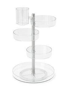 Umbra - Pirouette Organizer -teline 23 x 35 cm - CLEAR/NICKEL | Stockmann
