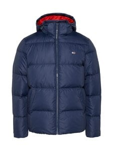 Tommy Jeans - Tjm Essential Down Jacket -untuvatakki - C87 TWILIGHT NAVY | Stockmann