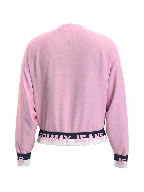 Tommy Jeans - TJW Branded Hem Sweatshirt -collegepaita - TOJ ROMANTIC PINK   Stockmann - photo 2