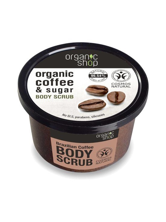 Organic Shop - Brazilian Coffee Body Scrub -vartalokuorinta 250 ml - null | Stockmann - photo 1