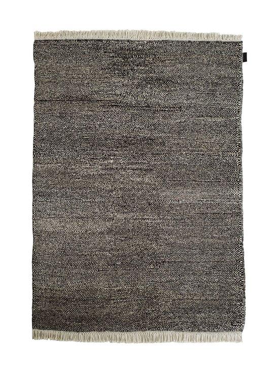 Sera Helsinki - Tuohi-villamatto 170 x 240 cm - BLACK/NATURAL WHITE (MUSTA/LUONNONVALKOINEN) | Stockmann - photo 1