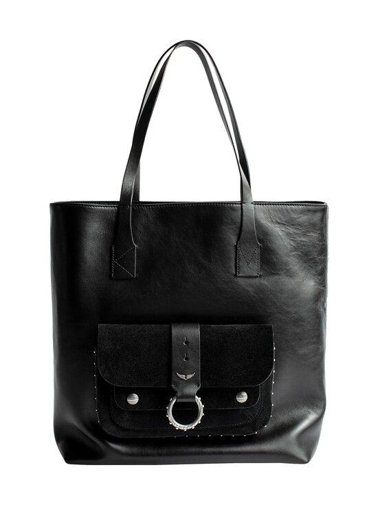 Zadig&Voltaire - Kate Shopper -nahkalaukku - NOIR BLACK   Stockmann - photo 1