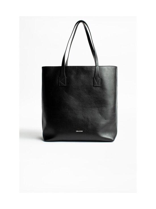 Zadig&Voltaire - Kate Shopper -nahkalaukku - NOIR BLACK   Stockmann - photo 2