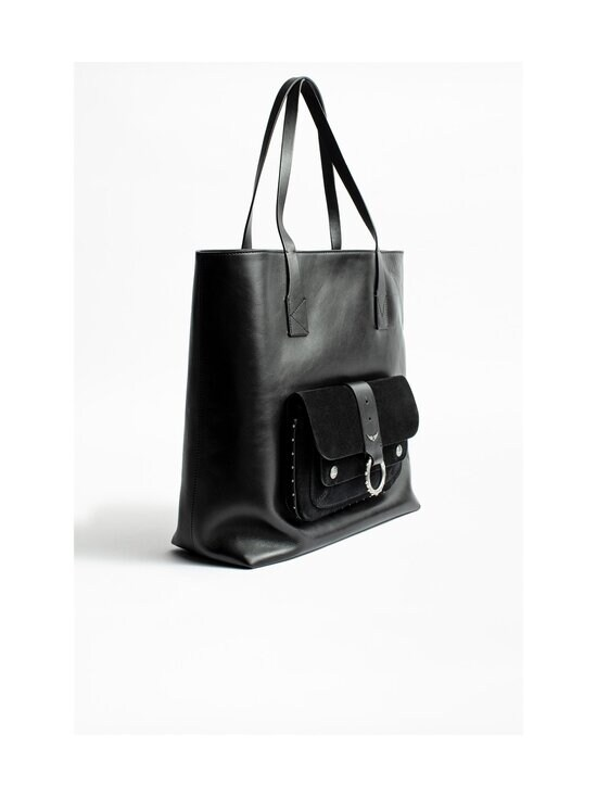 Zadig&Voltaire - Kate Shopper -nahkalaukku - NOIR BLACK   Stockmann - photo 3