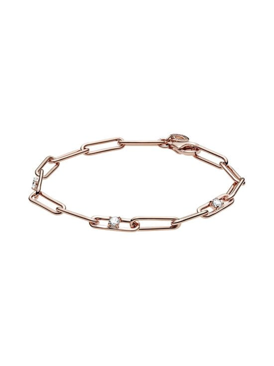Pandora - Link Chain & Stones Bracelet -rannekoru - CLEAR | Stockmann - photo 1