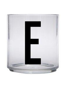 Design Letters - Kids Personal Drinking Glass -juomalasi, E - KIRKAS | Stockmann