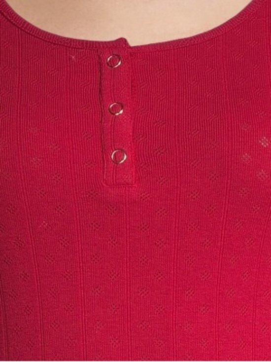 Superdry - Pointelle Skinny Grandad -paita - XSJ CHILLI PEPPER | Stockmann - photo 3