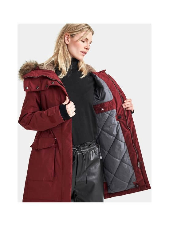 Meja Parka With Fur -toppatakki