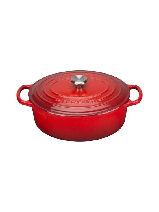 Le Creuset - Signature-pata, ovaali 4,1 l - PUNAINEN | Stockmann - photo 1