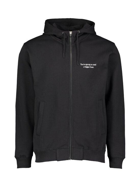 Makia - Makia x Rapala Silverback Hooded Sweatshirt -huppari - M40001 BLACK | Stockmann - photo 1
