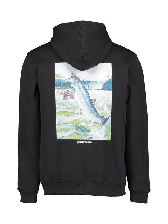 Makia - Makia x Rapala Silverback Hooded Sweatshirt -huppari - M40001 BLACK | Stockmann - photo 2