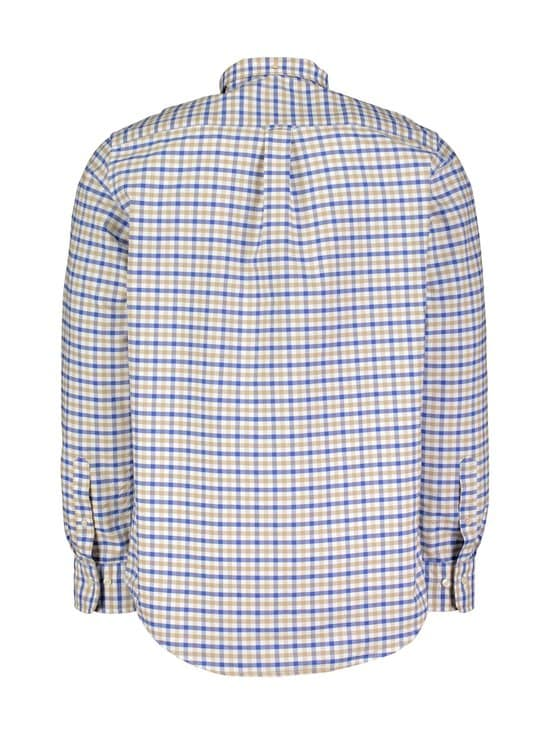 GANT - The Oxford Gingham Regular -kauluspaita - 248 DARK KHAKI | Stockmann - photo 2