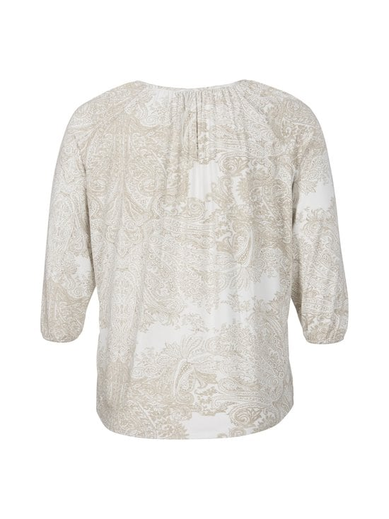 cut & pret PLUS - Carly-paita - BEIGE/OFFWHITE PAISLEY | Stockmann - photo 2