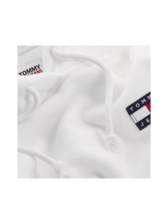 Tommy Jeans - TJW Badge Polar Fleece -huppari - YAP SNOW WHITE | Stockmann - photo 3