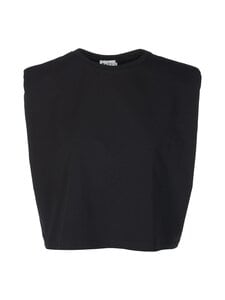 NA-KD - Shoulder Pad -toppi - BLACK | Stockmann
