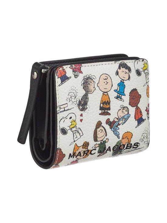 Marc Jacobs - Peanuts® x Marc Jacobs Mini Compact Wallet -nahkalompakko - WHITE MULTI 101   Stockmann - photo 2