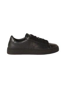 Kenzo - Kourt Lace Up -nahkasneakerit - 99 BLACK | Stockmann