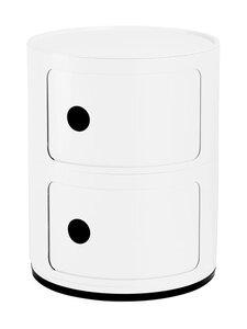 Kartell - Componibili-säilytyslokerikko 2 ovella - MAT WHITE 03 | Stockmann