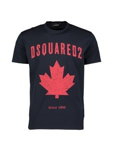 Dsquared - D2 Leaf T-Shirt -paita - 478 BLUE | Stockmann