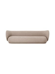 Ferm Living - Rico 4 Seater Bouclé -sohva - SAND | Stockmann