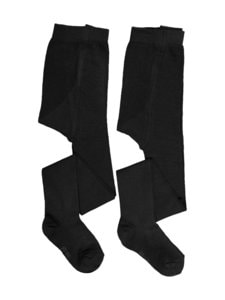 Ewers - Sukkahousut 2-pack - BLACK (MUSTA) | Stockmann