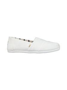 Toms - Optic White Heritage Canvas -kengät - 100 WHITE   Stockmann
