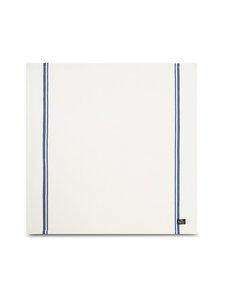 Lexington - Cotton Twill -lautasliina 50 x 50 cm - WHITE/BLUE | Stockmann