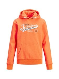 JACK & JONES junior - JjeNeon Logo -huppari - SHOCKING ORANGE | Stockmann