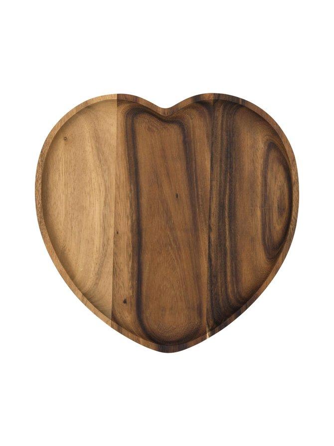 Sydän-tarjoilualusta 21 x 22 cm