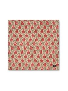 Lexington - Printed Cotton Twill -lautasliina 50 x 50 cm - RED MULTI | Stockmann