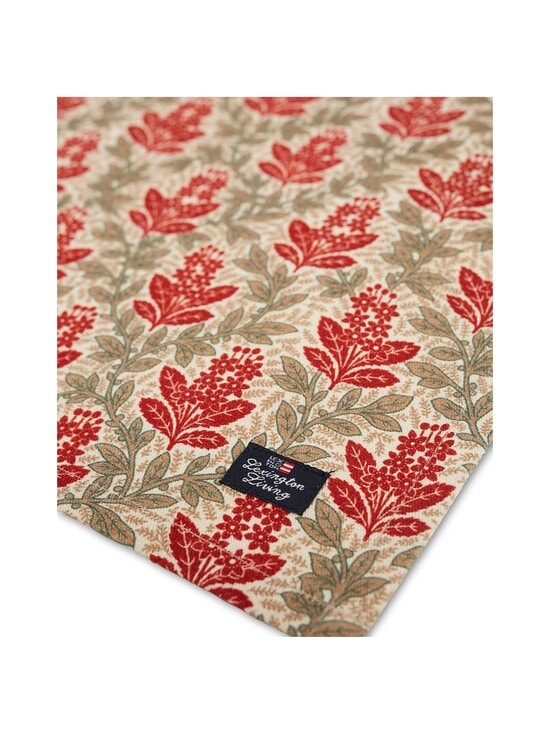 Lexington - Printed Cotton Twill -lautasliina 50 x 50 cm - RED MULTI | Stockmann - photo 2