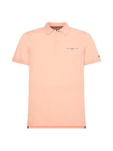 Tommy Hilfiger - Clean Jersey Slim Polo -pikeepaita - TLR DELICATE PEACH | Stockmann