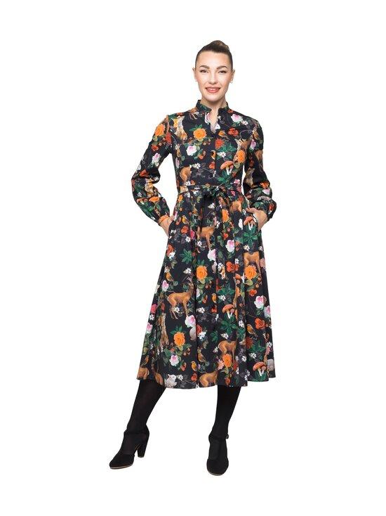 Camilla Thulin - Sprira dress -puuvillamekko - PARK SVART   Stockmann - photo 1
