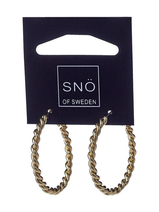 Snö Of Sweden - Way Ring -korvakorut - PLAIN G   Stockmann - photo 1