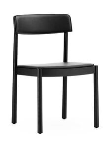 Normann Copenhagen - Timb Chair -tuoli, nahkaverhoilu - BLACK/ ULTRA LEATHER - BLACK   Stockmann