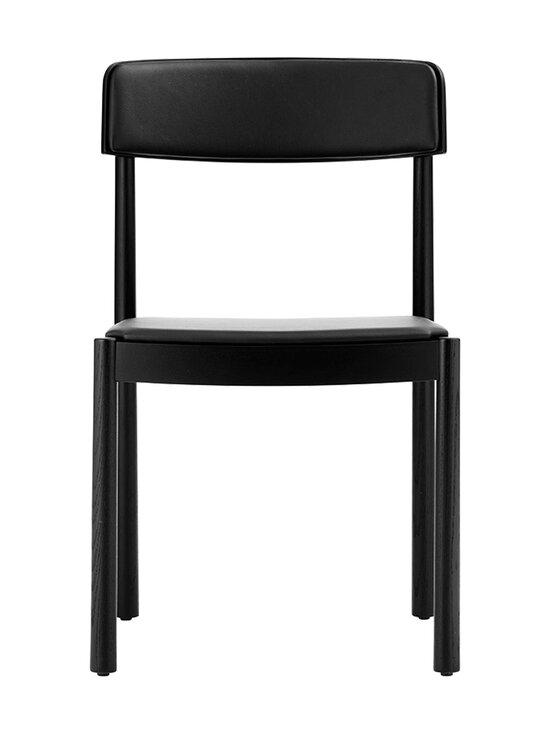 Normann Copenhagen - Timb Chair -tuoli, nahkaverhoilu - BLACK/ ULTRA LEATHER - BLACK | Stockmann - photo 2